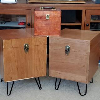 Record Album Storage Boxes