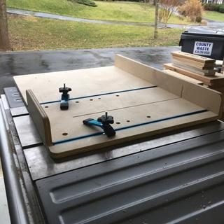 New crosscut sled