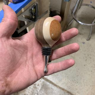 Made these using the mini mandrel. It was very easy to use.