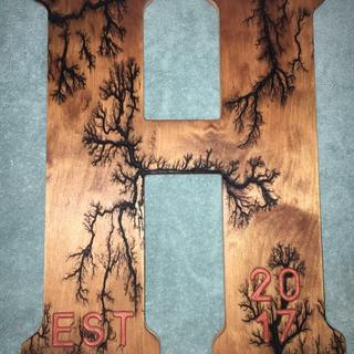 Wood burning project by A+R Wood Burning