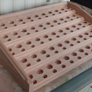 Solid oak 159 holes drilled