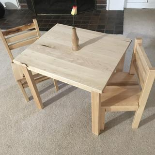 Table and chairs for my granddaughter.