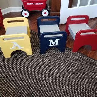 Stools for the grandkids