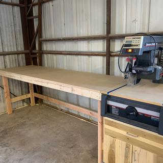 Used this track for moving the fence on my refurbished Radial Arm Saw