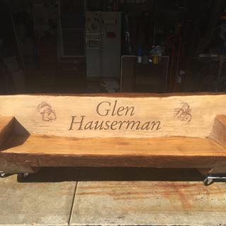 Memorial Bench for my brother!