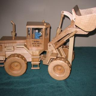 "Front Loader - built 24 years ago using titebond glue ""Still holding up """