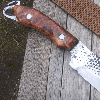 Boiled Linseed Oil makes this Maple Burl Pop!