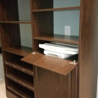"Fits nicely inside of a 14x24"" unit with fold down drawer front"