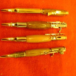 The bullet pens