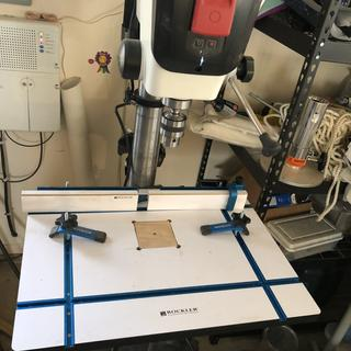 I used  it to make a drill press table    Works well   Added Rockler drill press fence and clamps