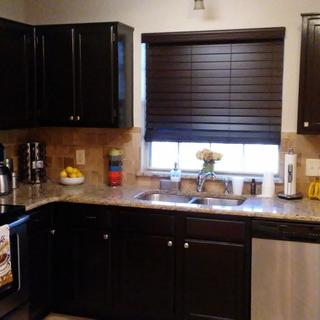My new kitchen with the Java gel stain general finish. Love it!