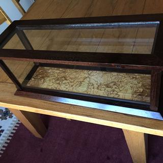 Display case made with Wenge and Ash Burl