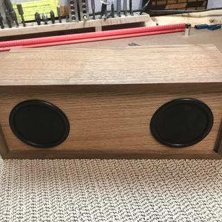 Simplified for Shop use! Walnut case with Oak face and back.This is just what I needed in the shop.
