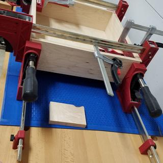 Router Table Drawer on Mat