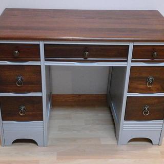 Vintage desk restored
