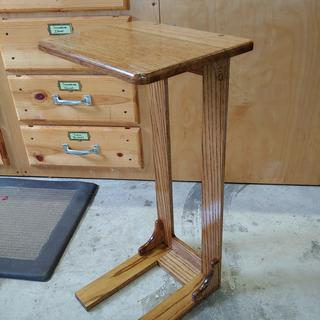 Reach-Over Arm Table using Beadlock Pro in the joints