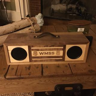A great gift for a colleague to commemorate a shared work effort.  Speakers were easy to install!