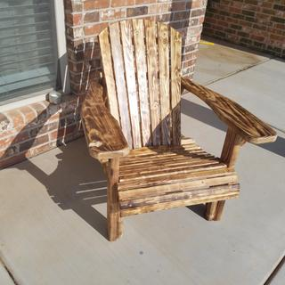 Turned out great! Added a burn to the wood, my wife loves it.