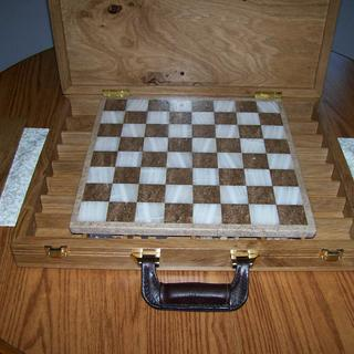 Chess set Suitcase