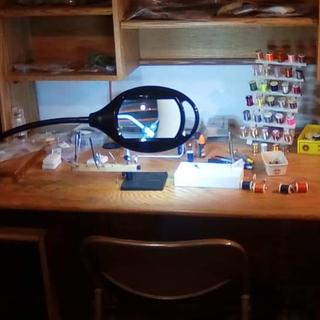 I use mine for fly tying. It awesome when tying the tiny ones like 24s. Love it.