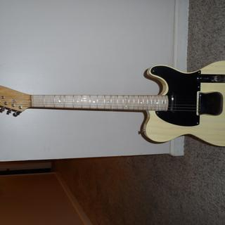 Guitar built using maple slab from Rockler.