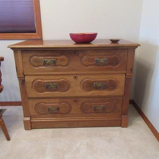 1800s dresser with six (6) Accuride 1029 undermount drawer slides added. Work great.