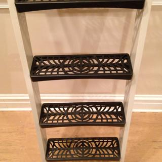 I loved these ladder treads. They saved a lot of labor cost.