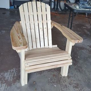 First Adirondack Chair.