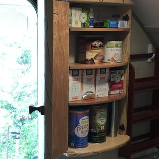 Used the low profile shelf supports for this little cabinet in my trailer.