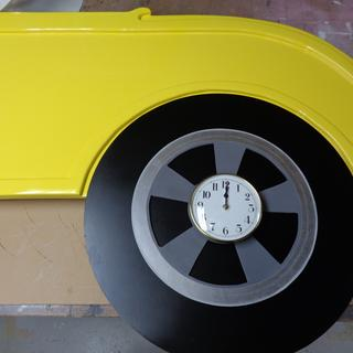 side of a 32 ford roadster , all patterns cut from master trimmed with pattern bits