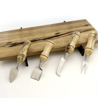 Cheese Board with matching utensils