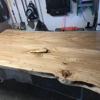 Bottom side sanded to 320 grit