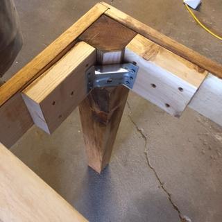 Surface Mount Corner Brackets For Table Aprons 4 Pack Rockler