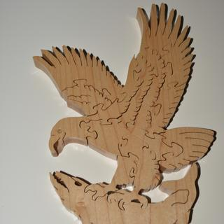 Eagle in maple