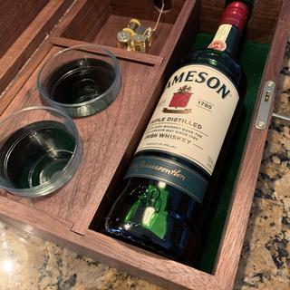 """Irish Whiskey Box inspired by the 1944 Bing Crosby Movie """"going my Way"""""""