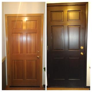 Transform the inside of our front door