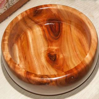 Campher  Bowl with Shellac & Lacquer Finish