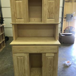 Shop cabinet made from Kreg Tool plan.