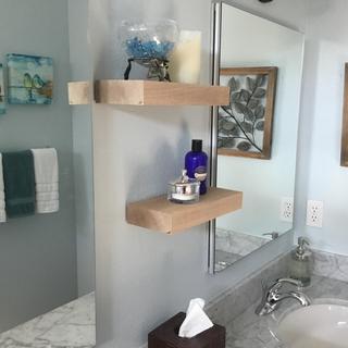 """2- 5x12"""" shelves"""