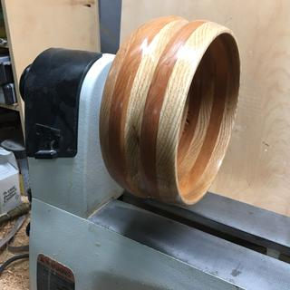 I'm still getting acquainted with the lathe, but it's a sweet machine.
