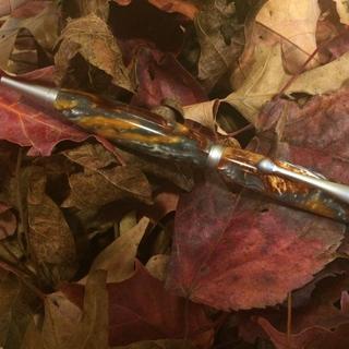 Molten metal with PK Satin pen kit