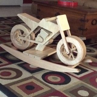 Grandson's Rocking Motorcycle