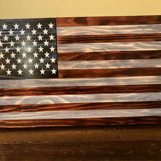 This is how I like it. My charred American Flag came out amazing.