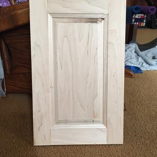 First cabinet door EVER!
