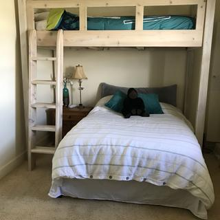 Grandsons bed, cedar