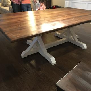 5' x 8' Farm Table