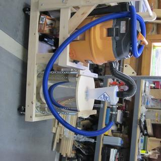 FlexForm Hose Kit used to couple the elements of a 2-stage dust collection system
