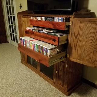 Entertainment Center Drawers