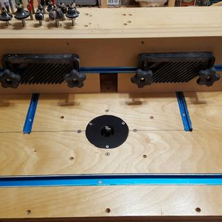 Router table & fence