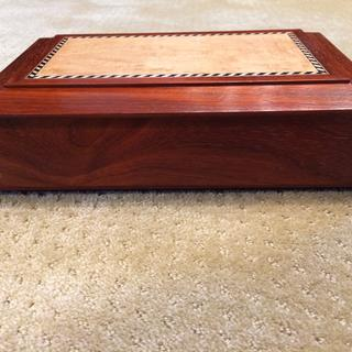 Padauk & Birdseye Maple Keepsake Box